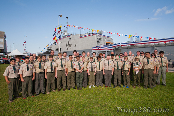 Troop 380 group photo